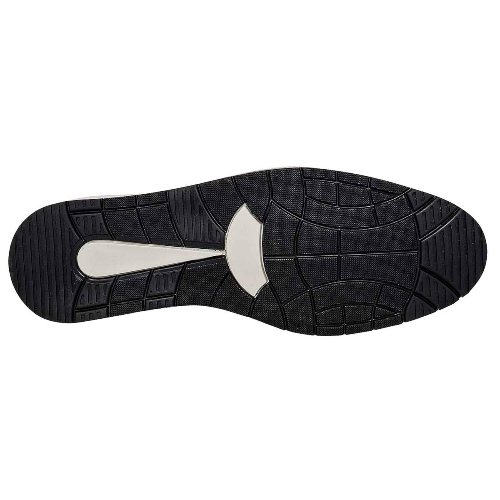 Acertijo Zapato Hombre Negro blanco