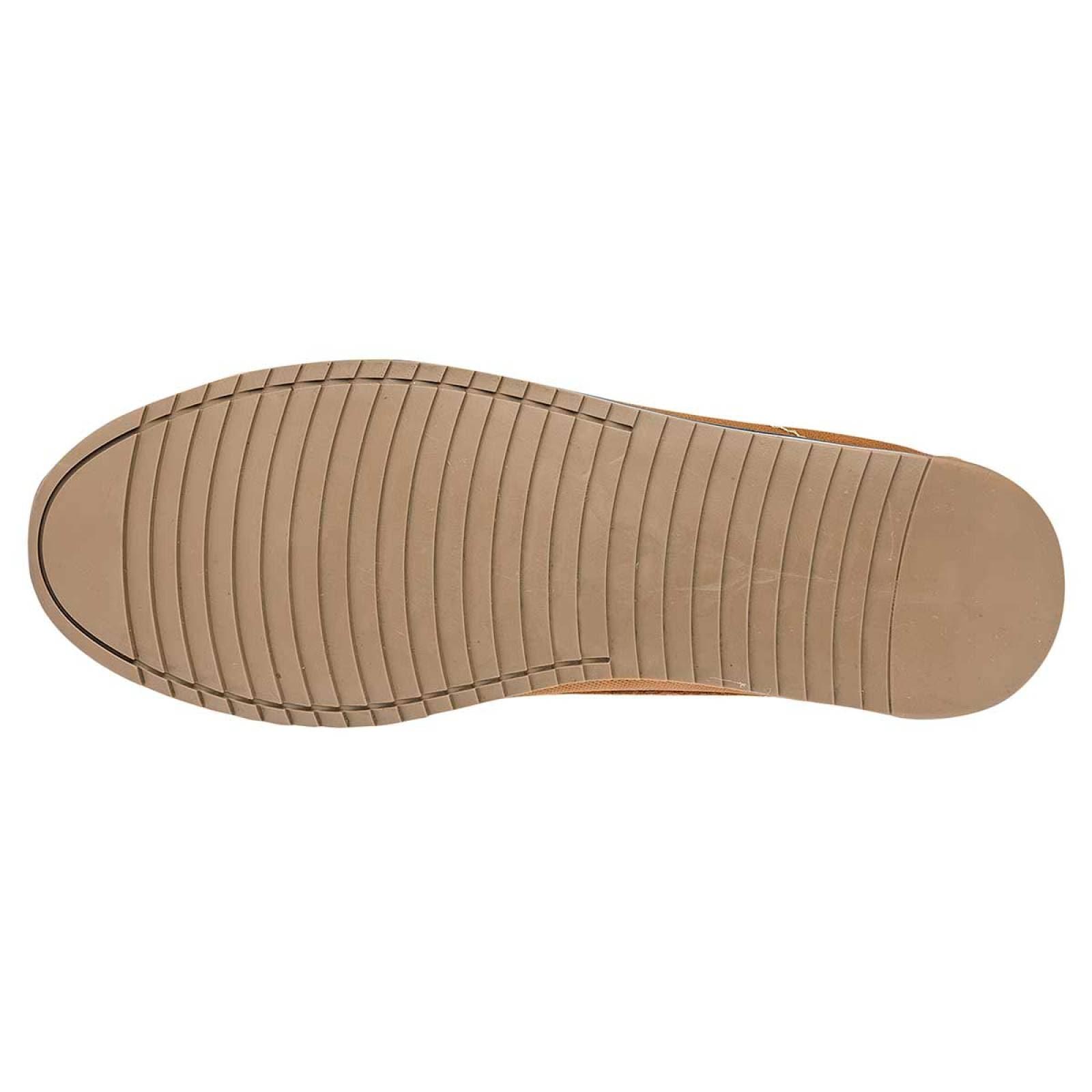 Negro total Zapato Hombre Camel