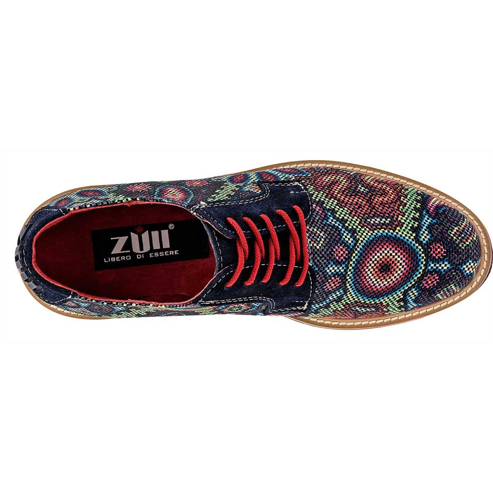 Zull Zapato Hombre Marino multicolor