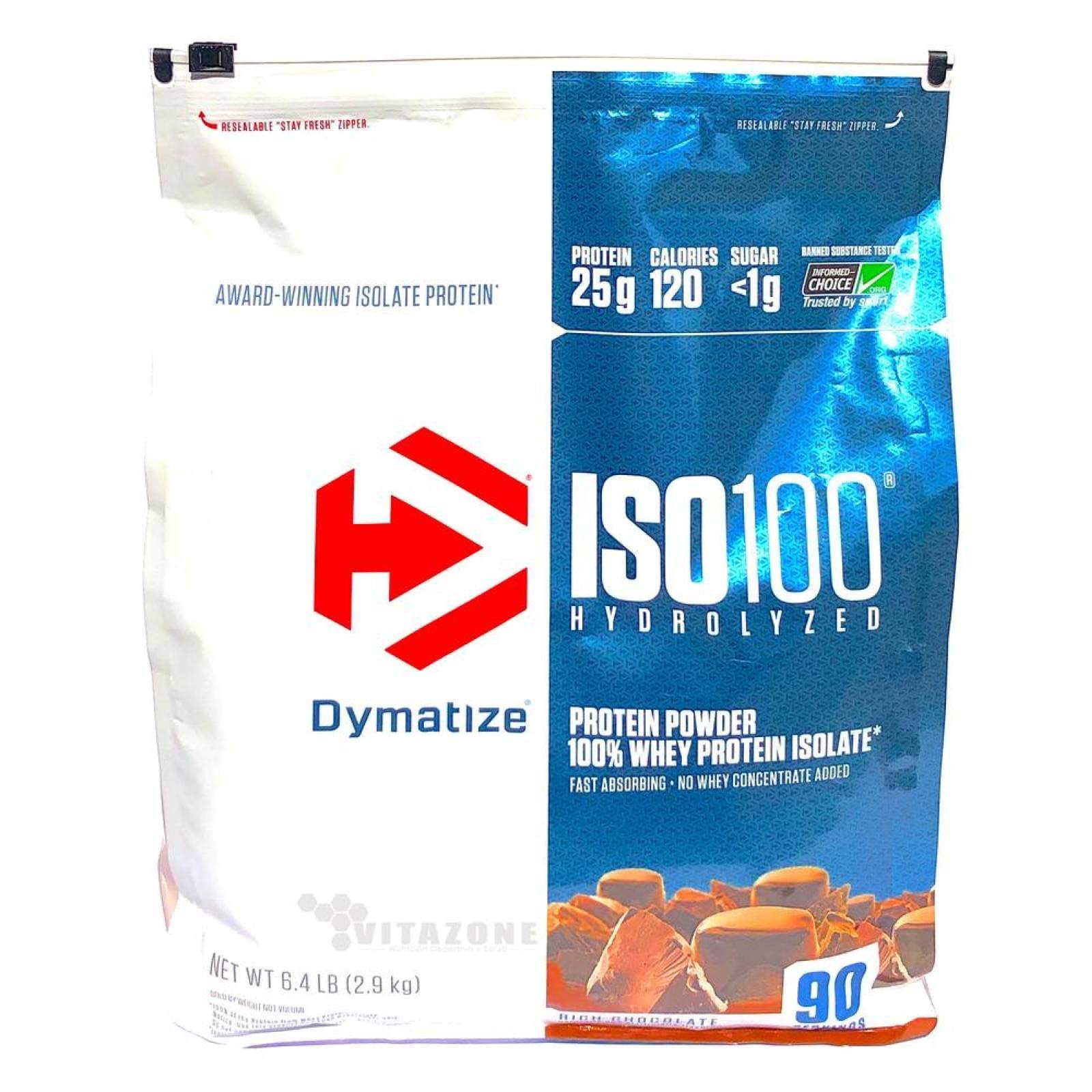 Proteína ISO 100 Hydrolyzed 6Lbs Chocolate Dymatize