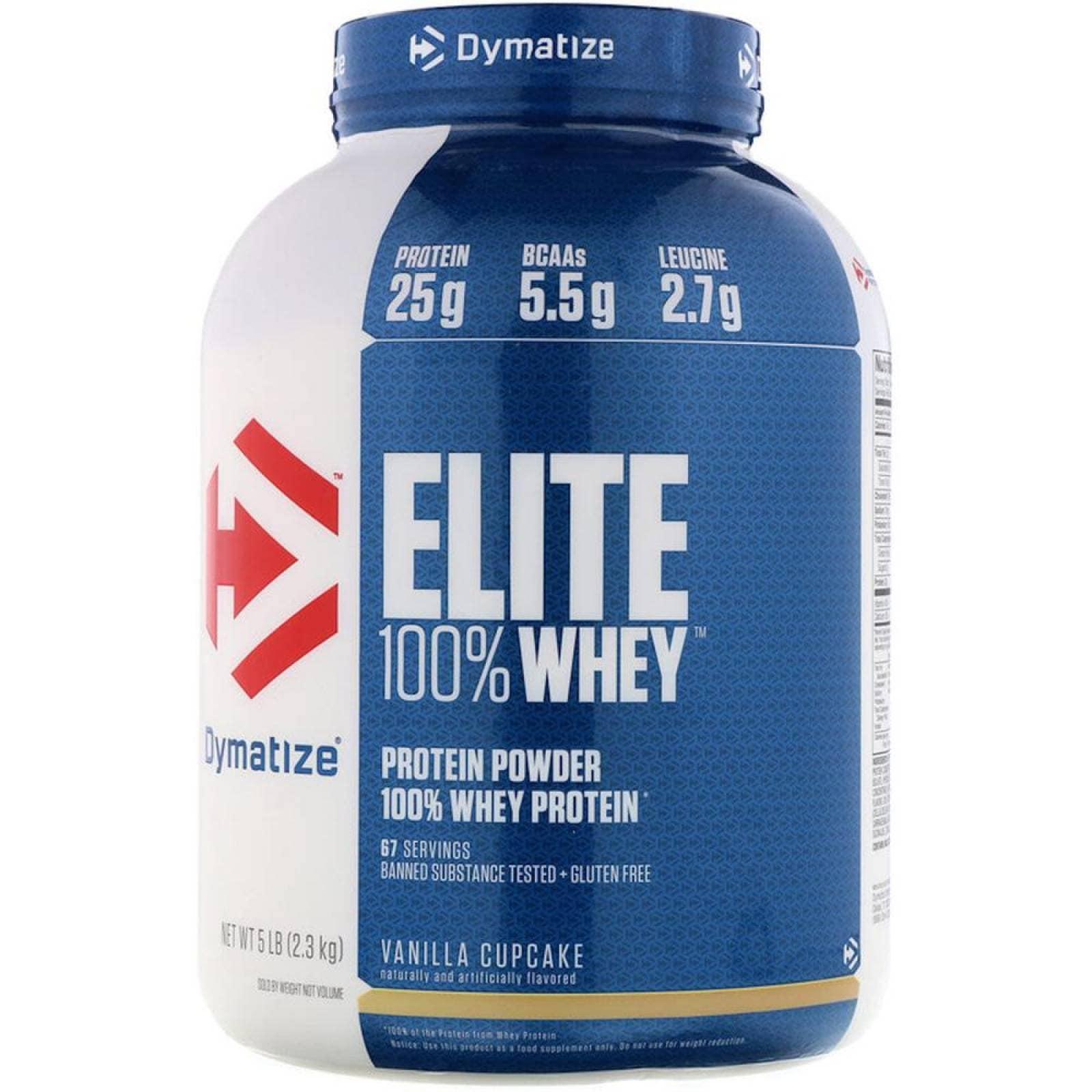 Elite 100 Whey Proteína 5 Lbs Vainilla Dymatize
