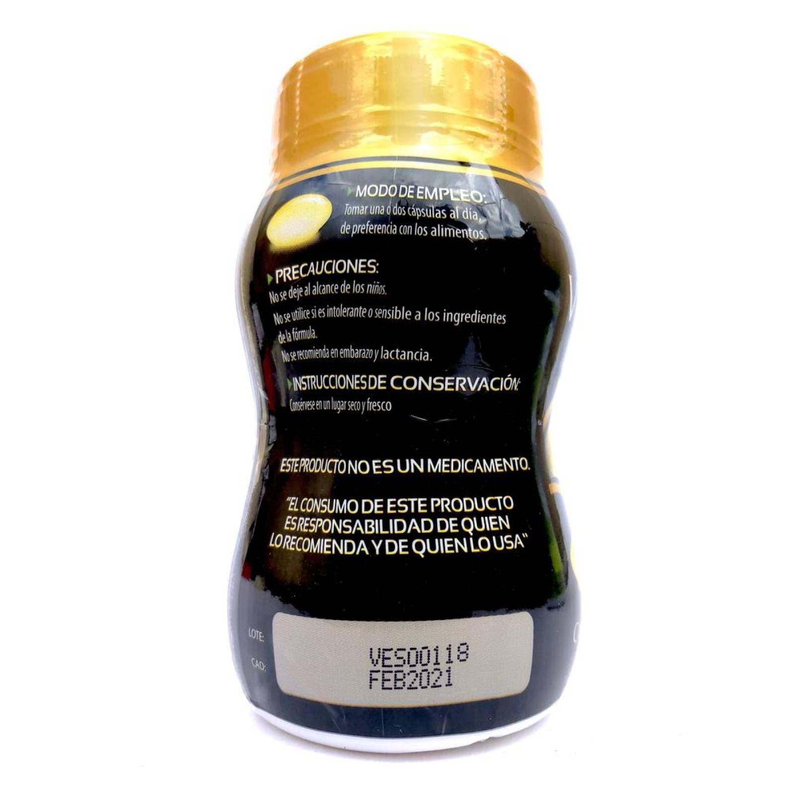 Biotina Con Vitamina E 120 Cápsulas De 550 Mg Solanum.