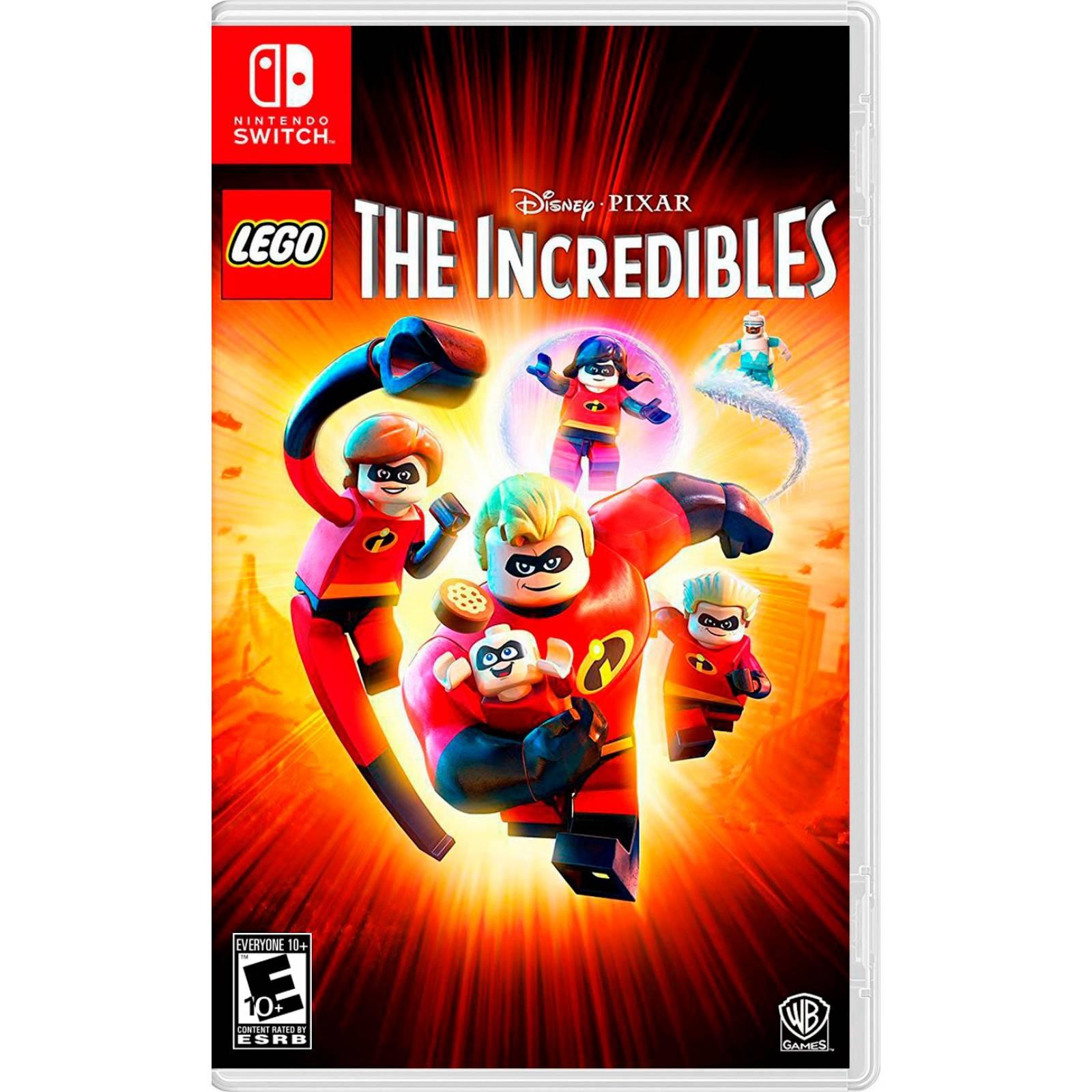 Videojuego Lego The Incredibles Nintendo Switch