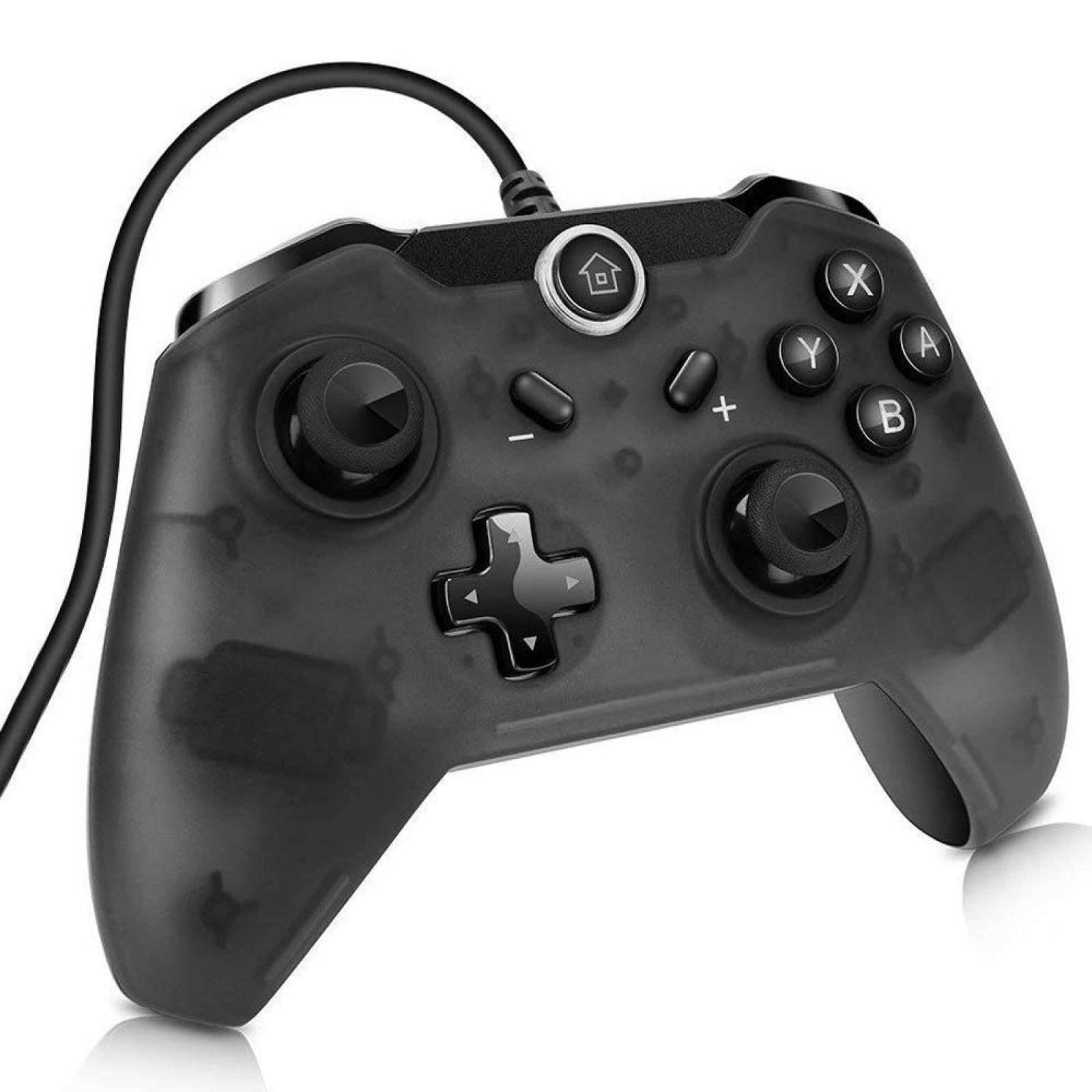 Control Nintendo Switch Pro Negro Generico - Alambrico
