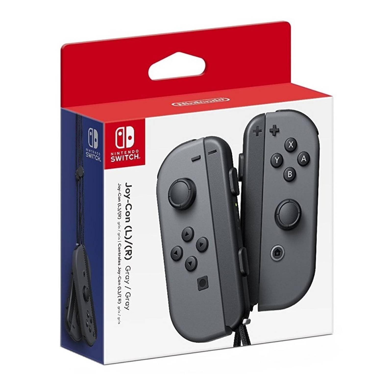 Controles Joy-Con Gris / Negro Nintendo Switch
