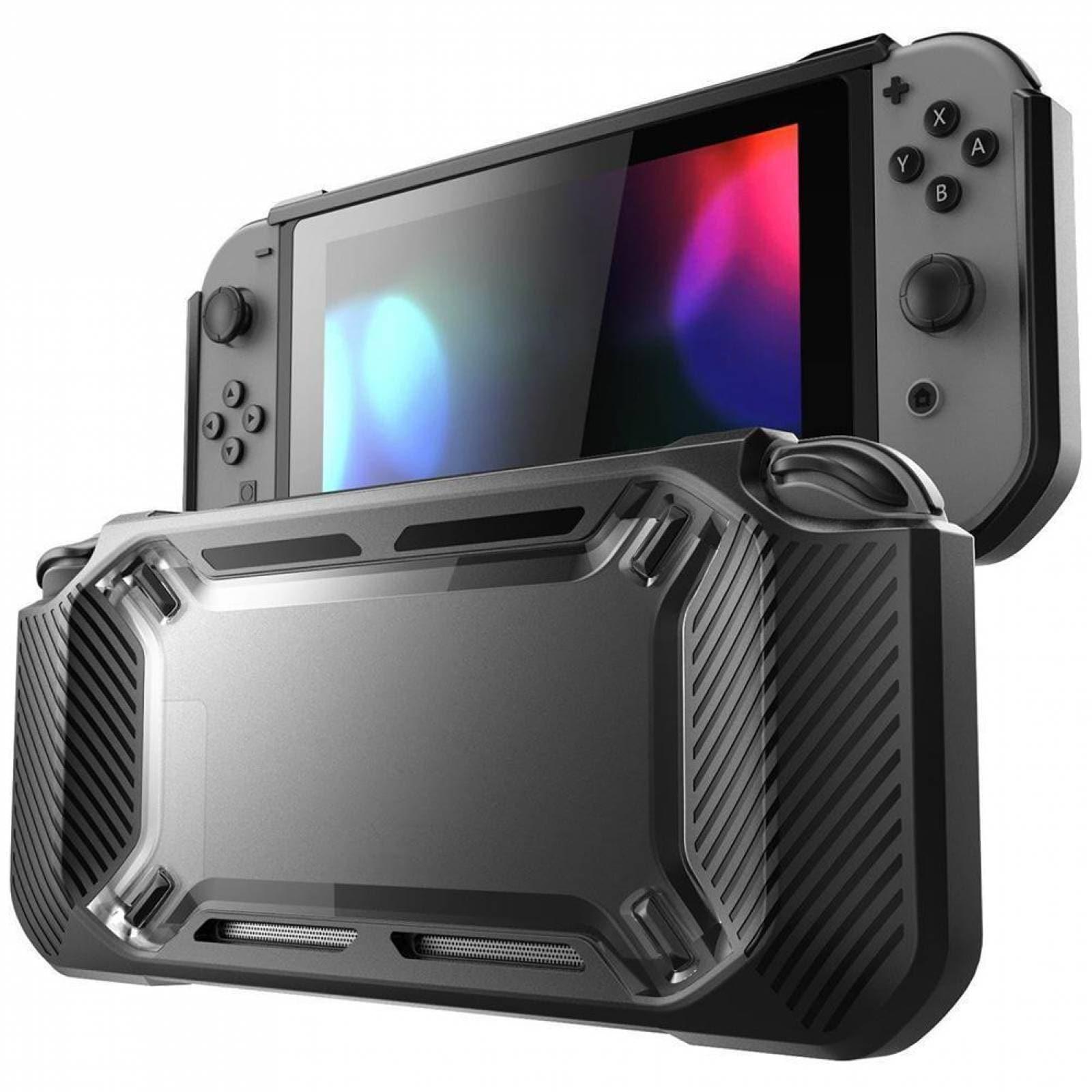 Protector Rigido Negro Nintendo Switch