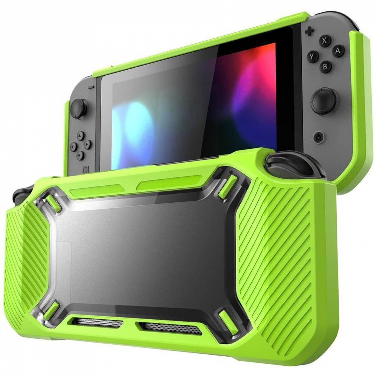 Protector Rigido Verde Nintendo Switch