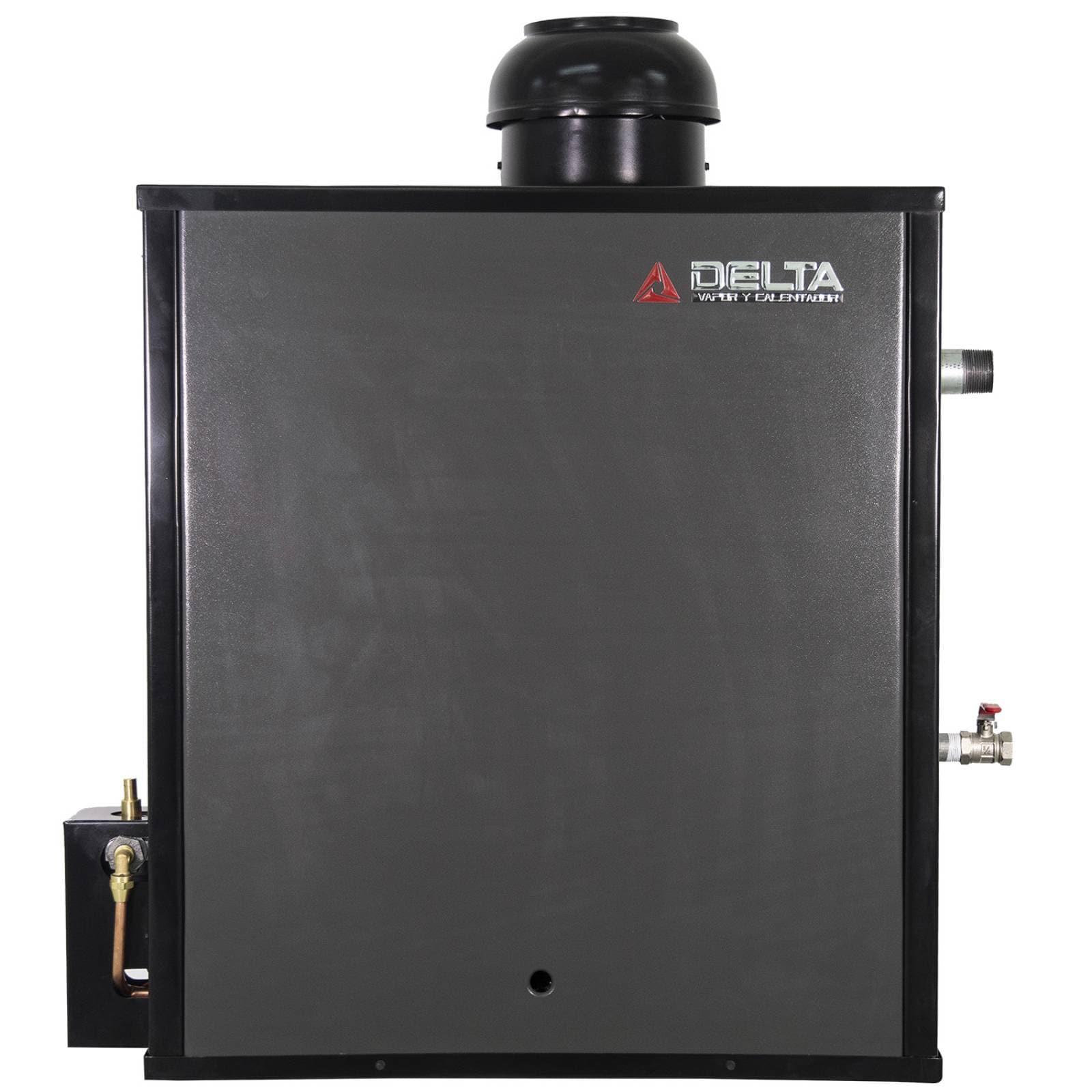 Generador de Vapor Diseñado para Hogar o Spa Instalación en Espacios de 15 m. Cúbicos Gas Natural Delta