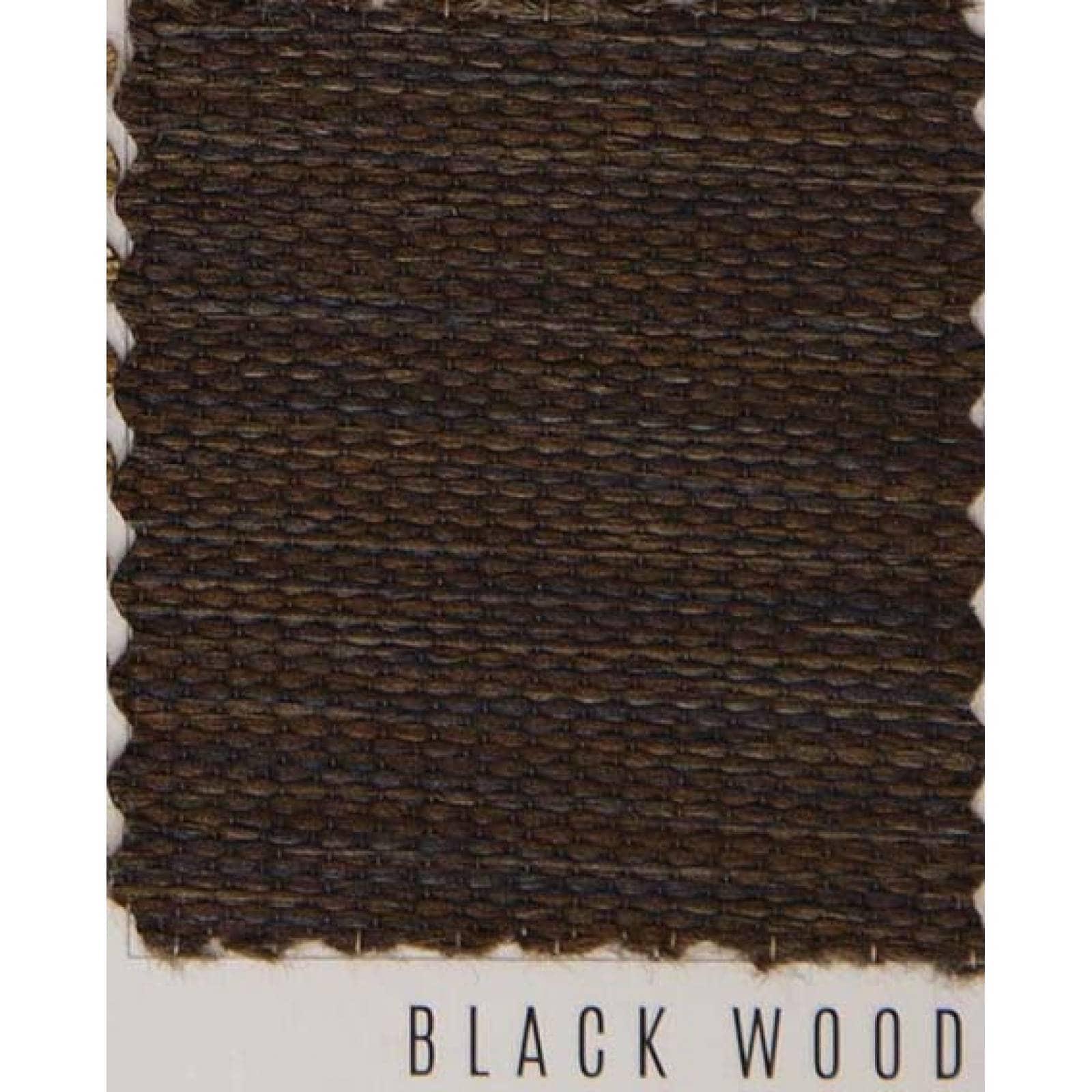 Persianas Sheer Elegance modelo Wood line 100 cm de ancho X hasta 100 cm de largo