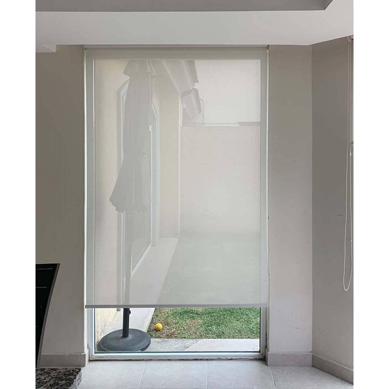 Persianas Malla Solar modelo Screen Soft 100 cm de ancho X hasta 100 cm de largo