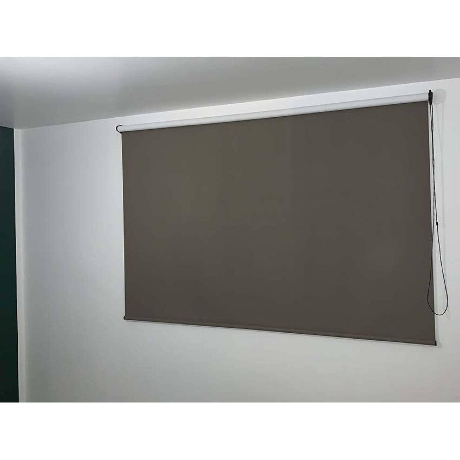 Persianas Blackout modelo Montreal 100 cm de ancho X hasta 100 cm de largo