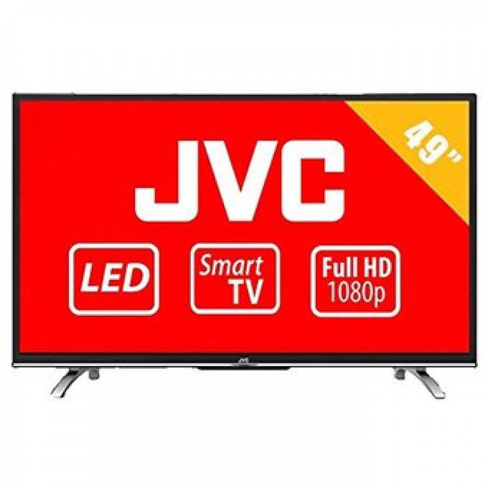 "Pantalla De 49"" Led, Smart Tv Marca JVC"