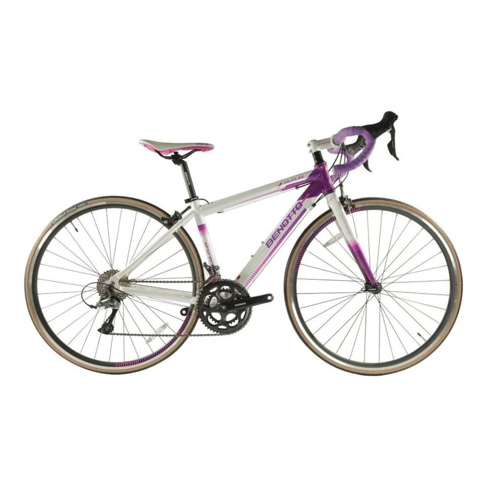 Bicicleta Benotto Ruta Juno R700c 16v Shimano Claris Alumini