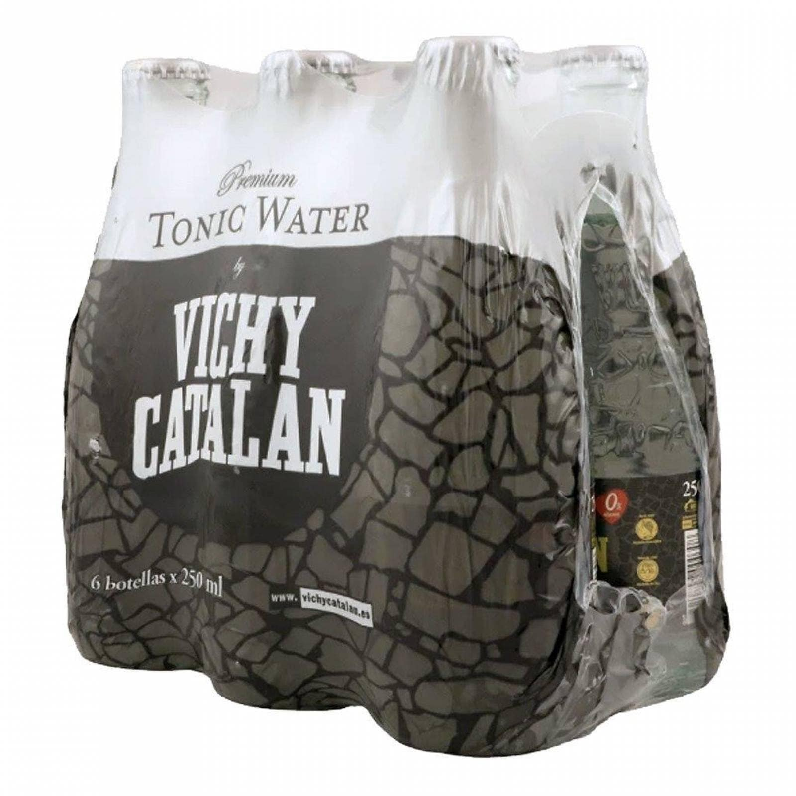 Vichy Catalan Agua mineral tonica 6 botellas de 250 ml