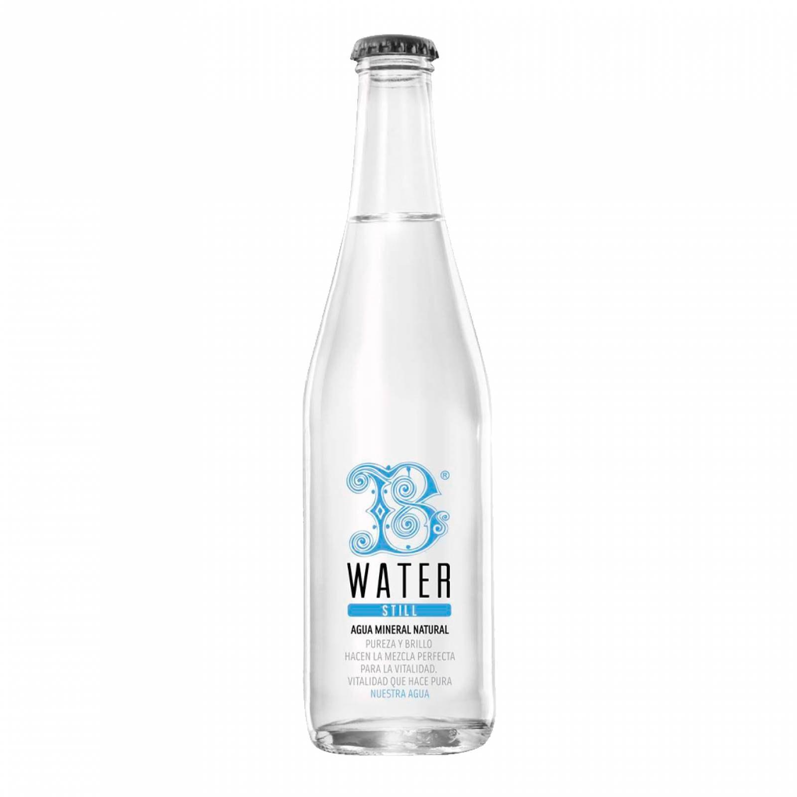 B Water Agua natural Still 355 ml