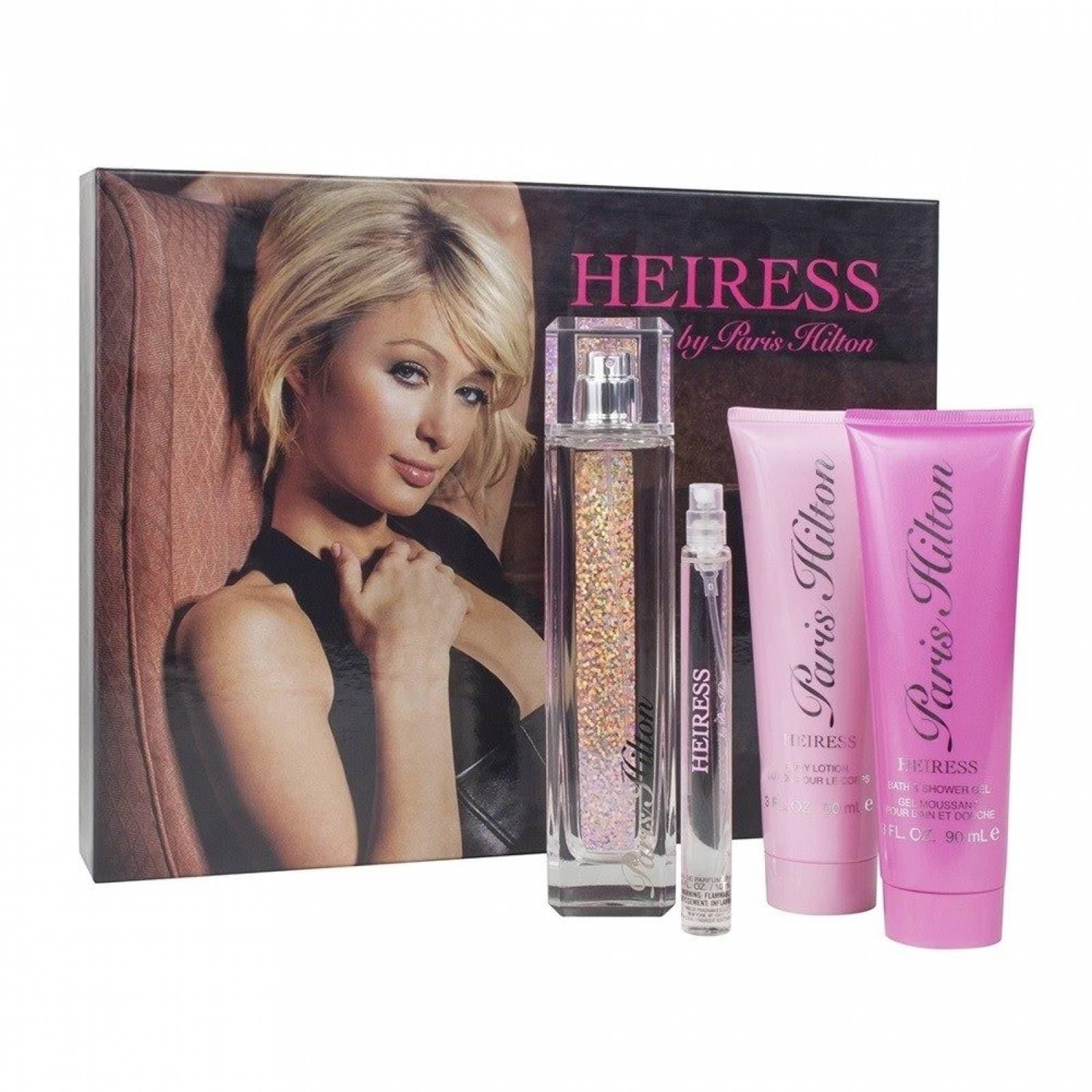 Set Heiress Paris Hilton Dama 4 Pz