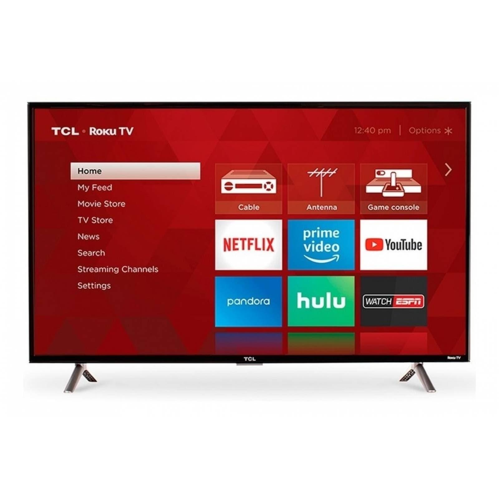 TV TCL 32 PULGADAS SMART TV HD 32S331-MX